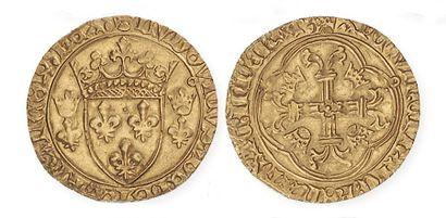 LOUIS XI (1461 - 1483). Ecu d'or à la couronne pour Toulouse (pt 5e). Dy 539. T...