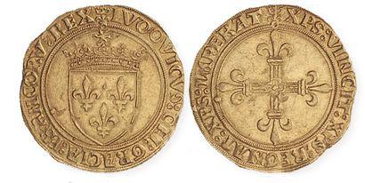 LOUIS XII (1498 - 1514). Ecu d'or au soleil...
