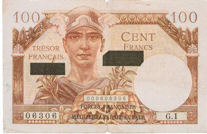 100F TRESOR FRANÇAIS