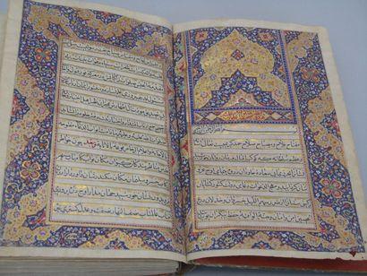 Manuscrit religieux, signe et date. Manuscrit...