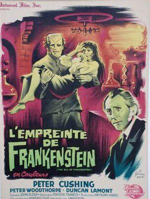 L'EMPREINTE DE FRANKENSTEIN 1953, (GRINSSON),...