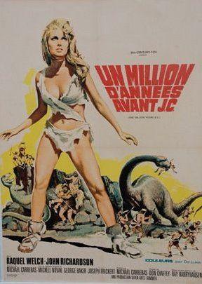 UN MILLION D'ANNEES AVANT JC, 1966 avec Raquel...