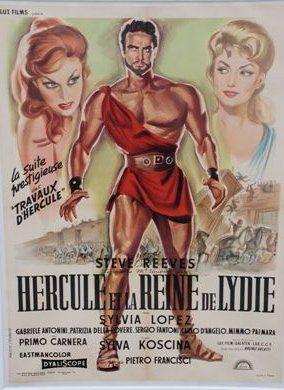 HERCULE ET LA REINE DE LYDIE, 1959 Réal....