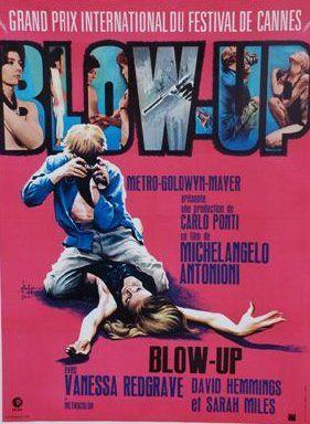 BLOW UP 1967 Réal. M. Antonioni Entoilée,...