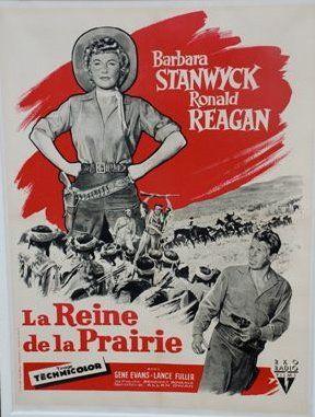 LA REINE DE LA PRAIRIE, 1954 avec Ronald...