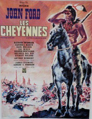 LES CHEYENNES, 1964 Réal. J. Ford (LANDI)...
