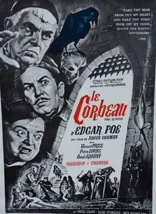 LE CORBEAU (the raven), 1963 Réal. R.Corman...