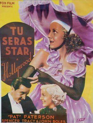 TU SERAS STAR A HOLLYWOOD, 1934 Réal. D.Buttler...