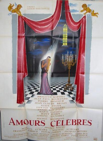 Affiches françaises pliées 120 x 160 cm :...