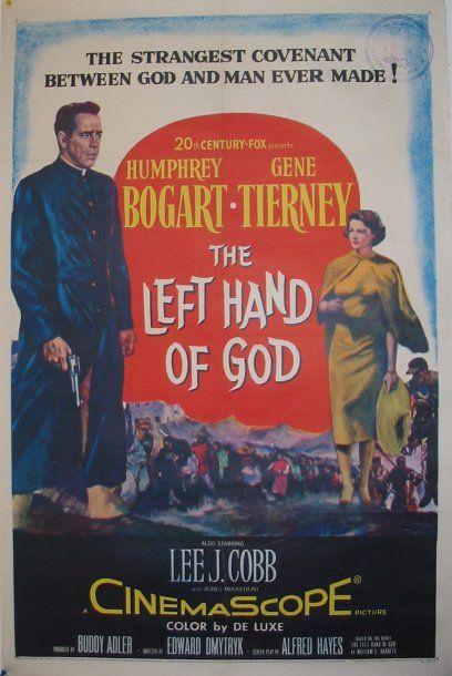 THE LEFT HAND OF GOD (avec Bogart,Tierney),...