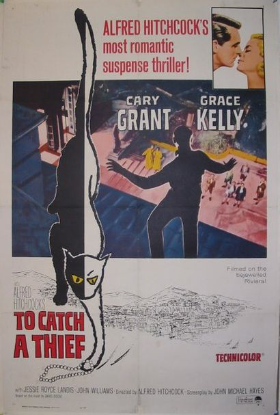 TO CATCH A THIEF, 1965 Réal. Hitchock One...