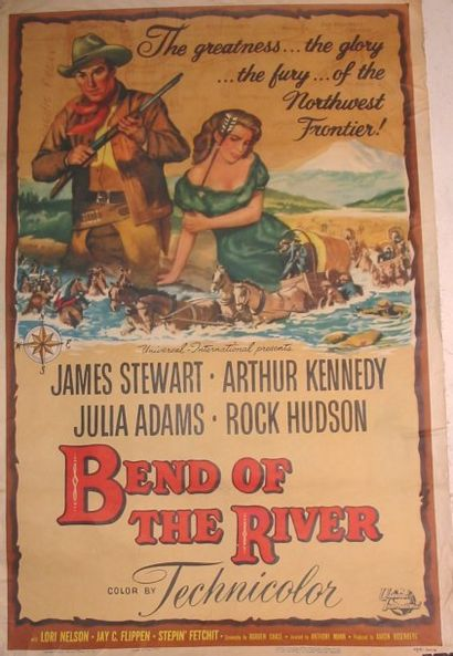 BEND OF THE RIVER, 1957 Réal. A.Mann One...