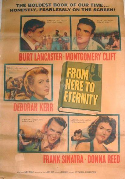 FROM HERE TO ETERNITY, 1953 Réal. F. Zinnemann...