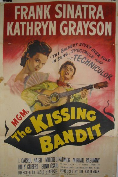 2 Affiches one sheet pliées : - THE KISSING...