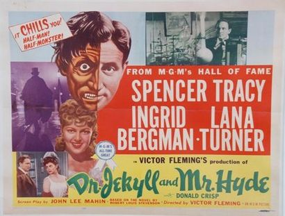 DR JEKYLL AND MR HYDE, 1941 Réal. V. Flemming...