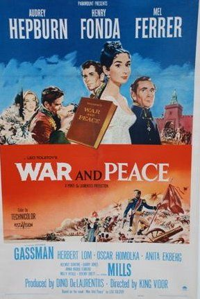 WAR AND PEACE, 1956 Réal. King Vidor, One...
