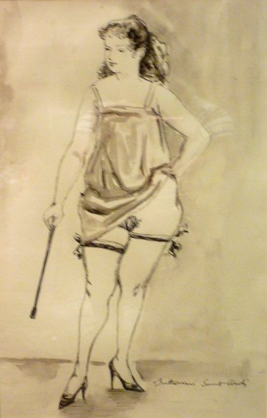 BERTHOME SAINT ANDRE Louis (1905-1977)