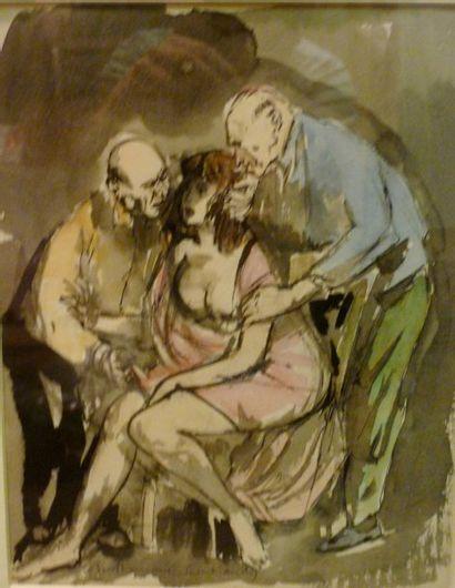 BERTHOMME SAINT ANDRE Louis,1905 - 1977