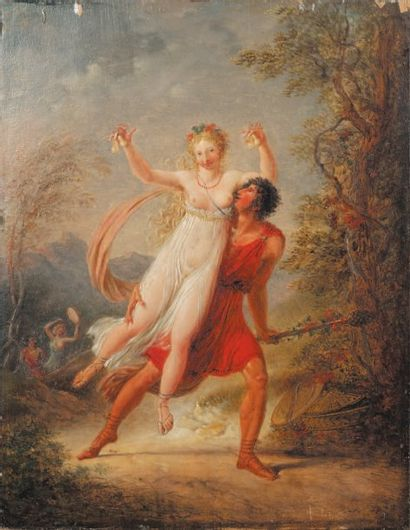 VALLIN Jacques Antoine (Attribué à) (1760 -1831)