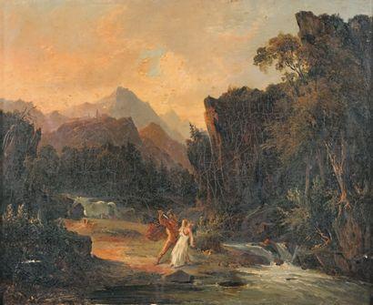 MESLIER Etienne Ecole Française première moitié du XIXe siècle