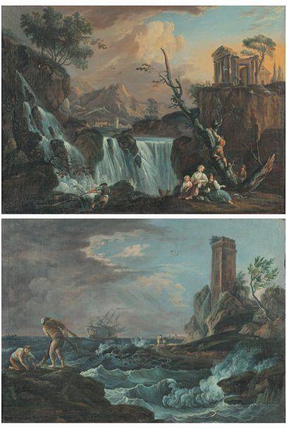 VERNET Claude - Joseph (Suite de) (1714 -1789)