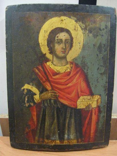 Icône représentant Saint Pantaleimon (Saint...