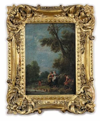 Attribué à Guiseppe ZAIS (1709 -1784)