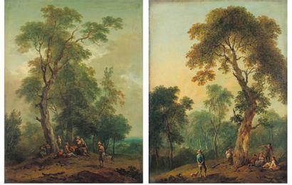 BRAND Johann-Christian (Attribué à) (Vienne 1722-1795)