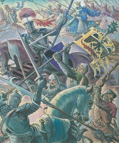 AUGER Raoul La bataille de Soissons (978)....