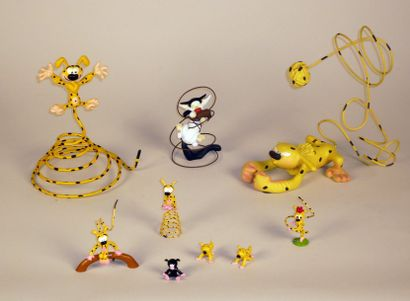 FRANQUIN SPIROU Ensemble de figurines PIXI....