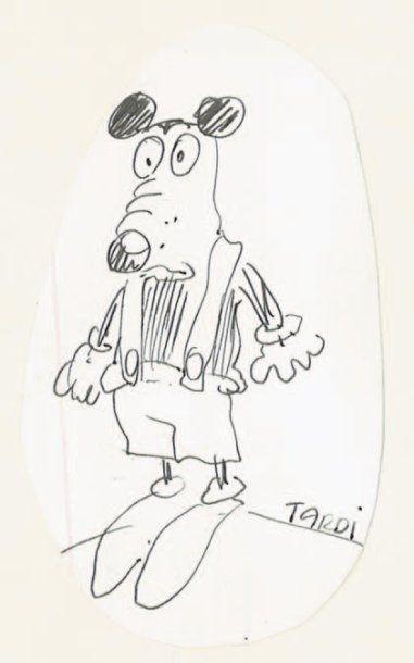TARDI Dédicace de Mickey par Tardi en hommage...