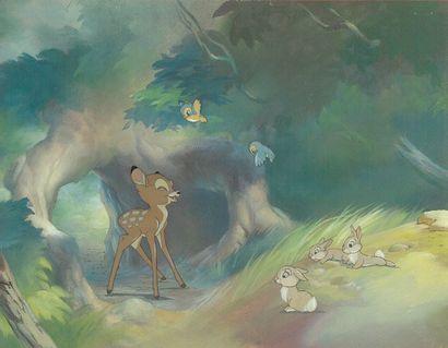 BAMBI Studio Walt Disney 1942. Magnifique...