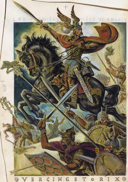 AUGER Raoul Vercingetorix Gergovie défaite...