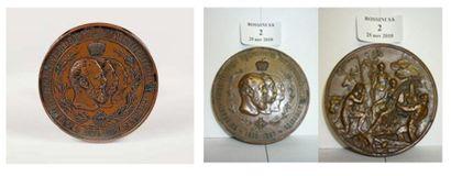 Medaille de table Cinquantenaire des biens...