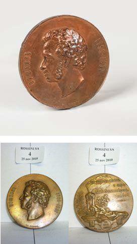 Medaille de table Centenaire de la naissance...