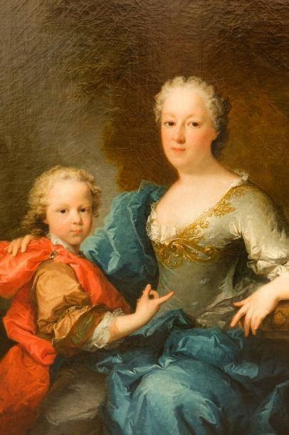 LE VRAC TOURNIERES Robert Caen 1667 - id.; 1752 1 - Portrait d'un gentilhomme avec...