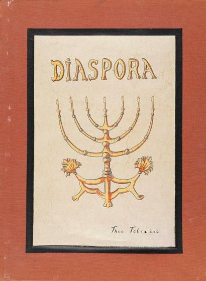 TOBIASSE Théo, 1927-2012  Diaspora  18 lithographies...