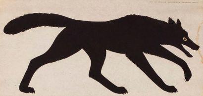 MARI Enzo, d'après  Le loup, série de la...