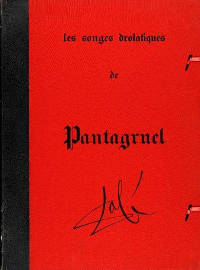 DALI Salvador, 1904-1989  Les Songes drolatiques...