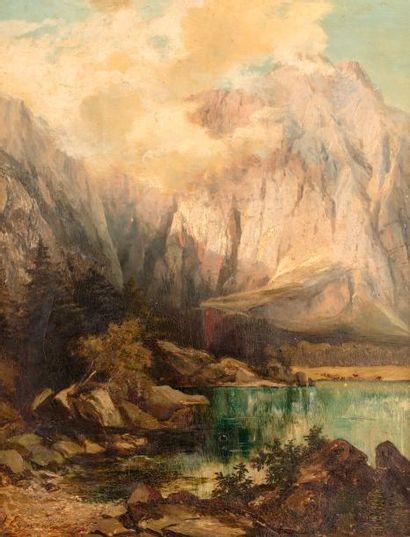 EGNER Marie, 1850-1940  Lac supérieur, Valromana...