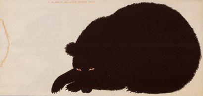 MARI Enzo, d'après  L'ours, série de la nature,...