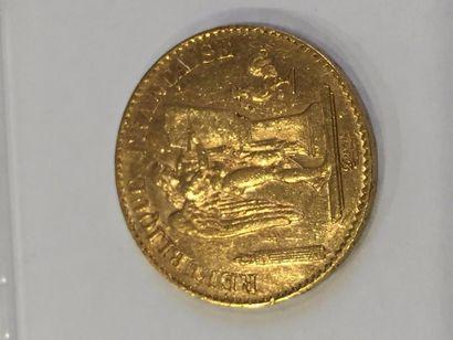20 francs Génie, IIIe république ( 1890 A)...