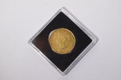[ Pièce en or ] [ Italie ]  Pièce de 40 lires...