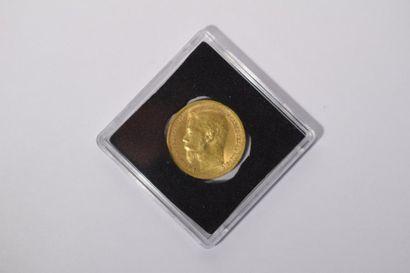 [ Pièce en or ] [ Russie ] Pièce de 15 roubles...