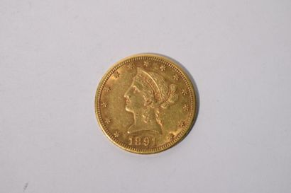[ Pièce en or ] Pièce de 10 dollars