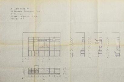 PIERRE JEANNERET (1896-1967) attribué à& Georges BLANCHON (éditeur) - Pierre GUARICHE...