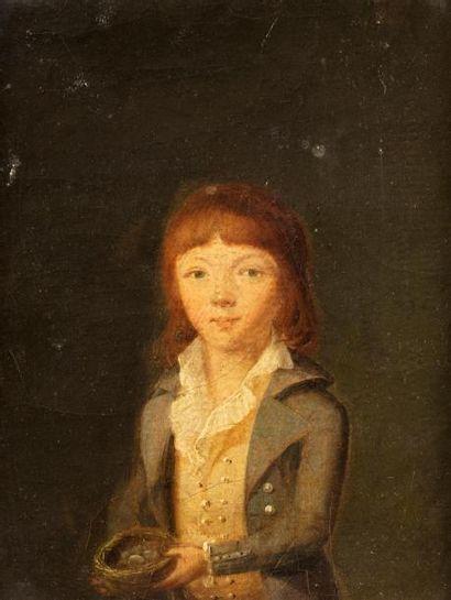 ECOLE FRANCAISE Vers 1790    1 - Portrait...