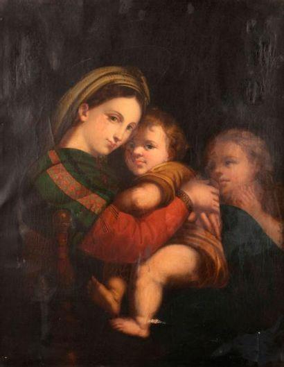 RAPHAEL (Raffaello Santi ou Sanzio) (D'après)...