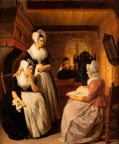 EECKHOUT Jakob Joseph  Anvers 1793 - Paris...