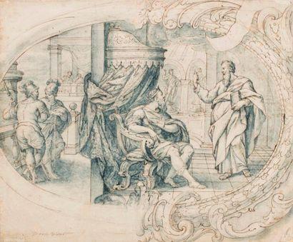 VIDAL Dionisio (Attribué à)  Valence 1670...